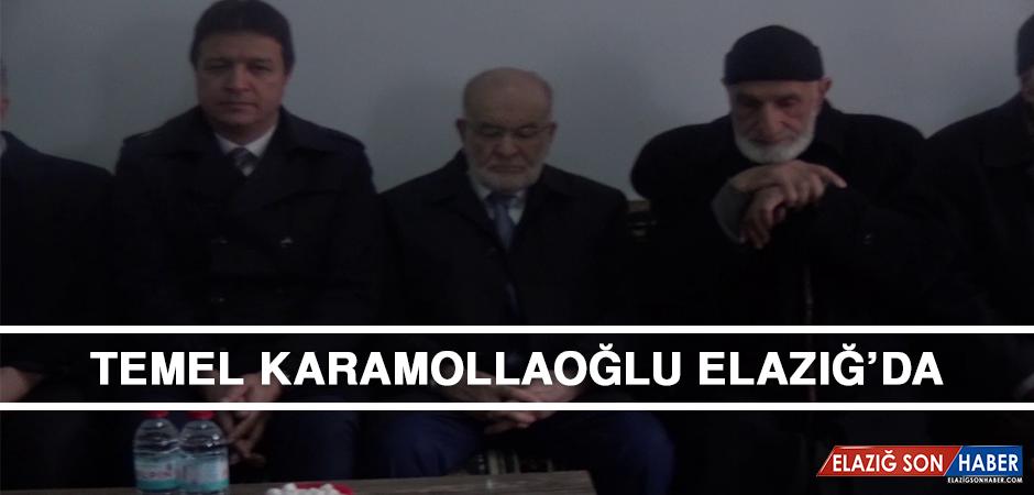 Temel Karamollaoğlu, Elazığ'da
