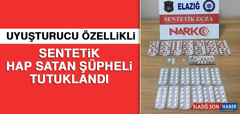 Uyuşturucu Özellikli Sentetik Hap Satan Şüpheli Tutuklandı