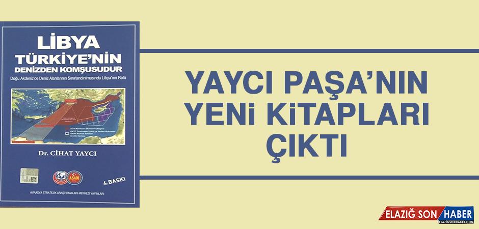 Yaycı Paşa'nın Yeni Kitapları Çıktı