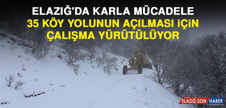 35 Köy Yolunun Açılması İçin Çalışma Yürütülüyor