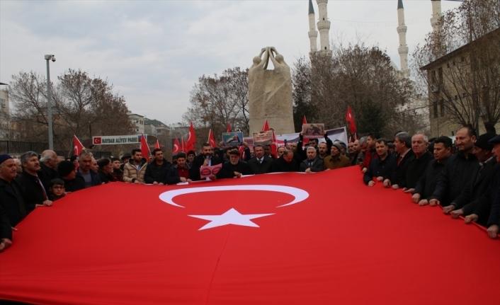 Ağrı, Erzincan ve Iğdır'da ABD'nin sözde Orta Doğu Barış Planı protesto edildi