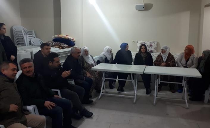 AK Parti genel başkan yardımcıları, depremden etkilenen Malatya'da incelemelerde bulundu