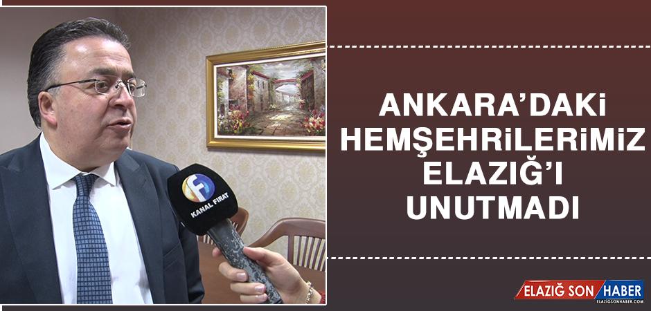 Ankara'daki Hemşehrilerimiz Elazığ'ı Unutmadı