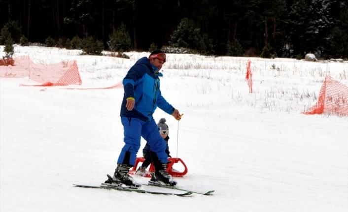 Ardahan'daki Yalnızçam Kayak Merkezi'nde sezon açıldı