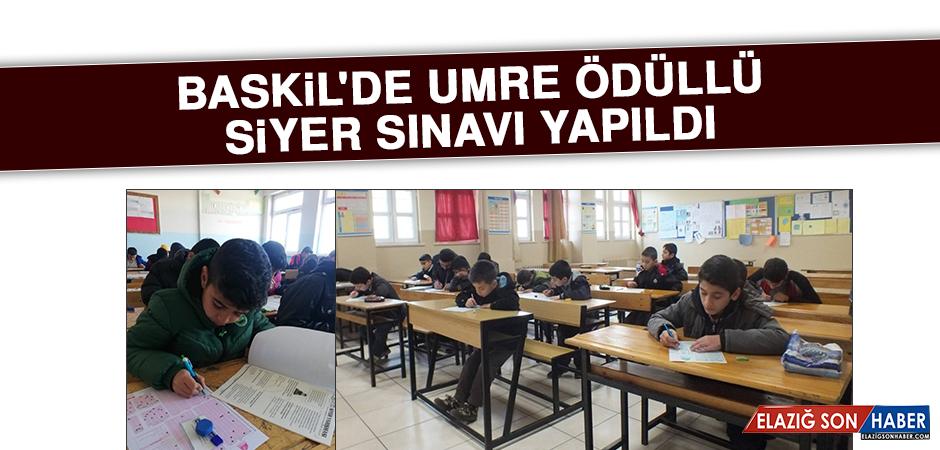 Baskil'de Umre Ödüllü Siyer Sınavı Yapıldı