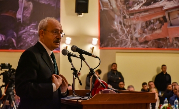 CHP Genel Başkanı Kılıçdaroğlu Elazığ merkezli depremi değerlendirdi: