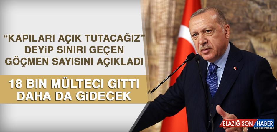 Cumhurbaşkanı Erdoğan Sınırı Geçen Göçmen Sayısını Açıkladı