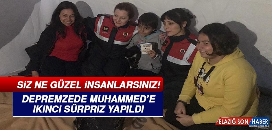 Depremzede Muhammed'e Jandarmadan İkinci Sürpriz