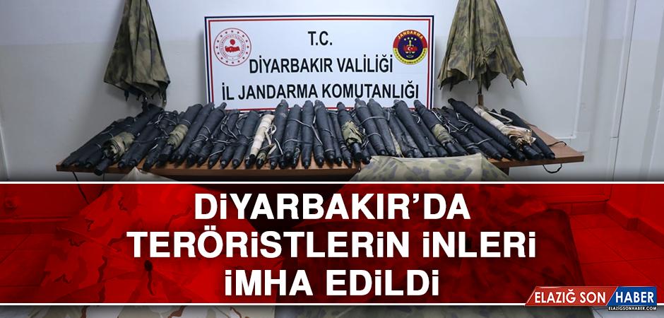 Diyarbakır'da Teröristlerin İnleri İmha Edildi