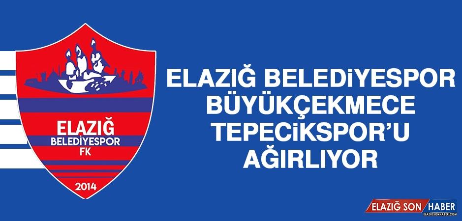 Elazığ Belediyespor, Büyükçekmece Tepecikspor'u Ağırlıyor