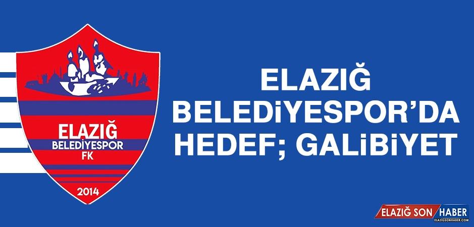 Elazığ Belediyespor'da Hedef; Galibiyet