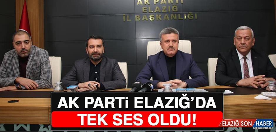 Elazığ'da AK Parti'den Ortak Açıklama