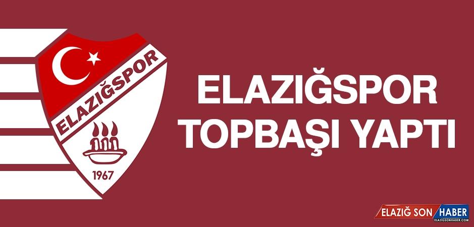 Elazığspor, Topbaşı Yaptı
