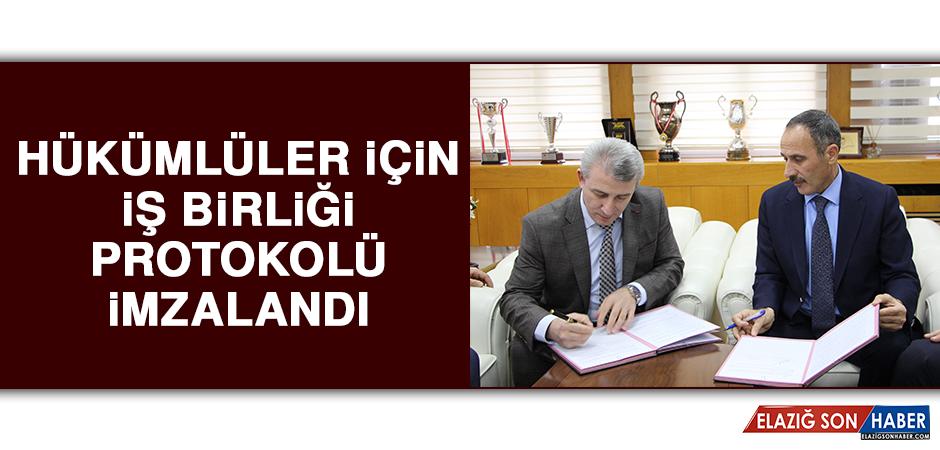 Hükümlüler İçin İş Birliği Protokolü İmzalandı