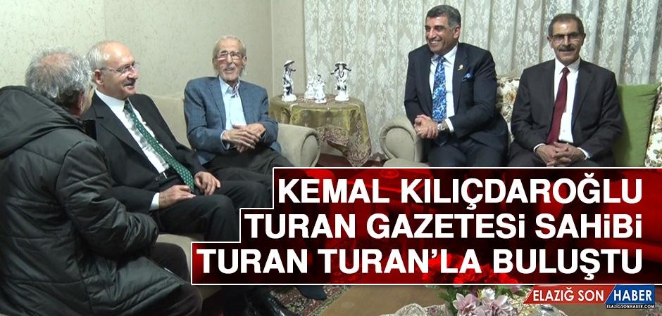 Kemal Kılıçdaroğlu, Turan Gazetesi Sahibi Turan Turan'la Buluştu