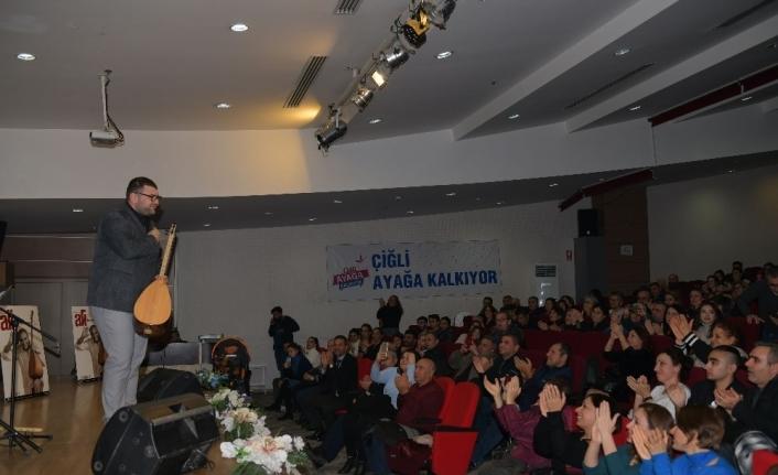 Kıvırcık Ali, Çiğli'de türkülerle anıldı