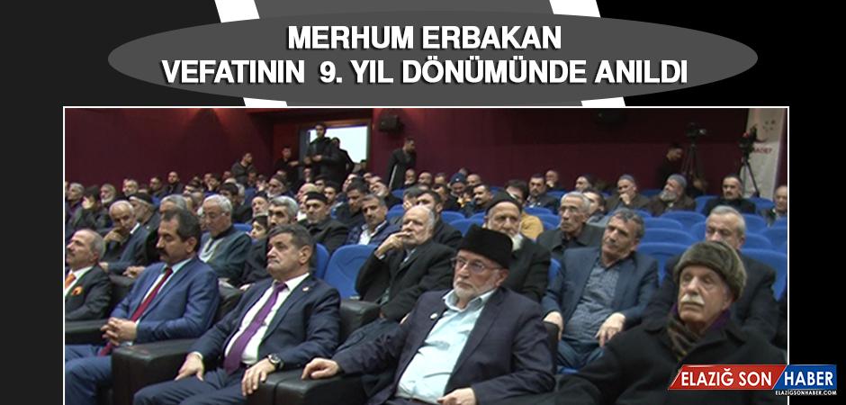 Merhum Erbakan, Vefatının 9. Yıl Dönümünde Anıldı