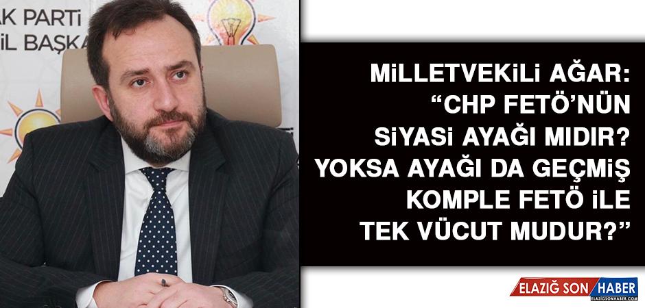 Milletvekili Ağar Kılıçdaroğlu'nun Açıklamalarına Sert Cevap Verdi
