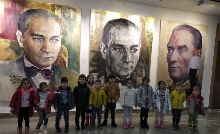 Odunpazarı'nda çocuklar sanatla tanıştı
