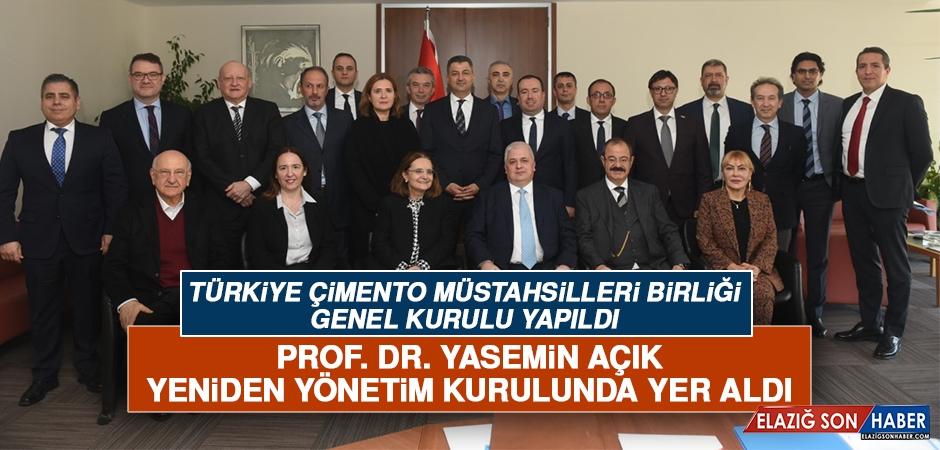 Prof. Dr. Yasemin Açık, Yeniden TÇMB Yönetim Kurulu Üyeliğine Seçildi