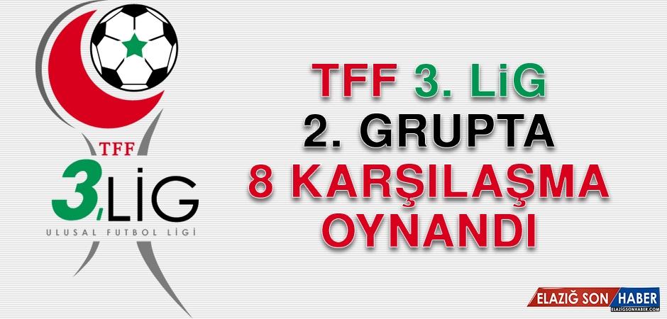 TFF 3. Lig 2. Grupta 8 karşılaşma oynandı
