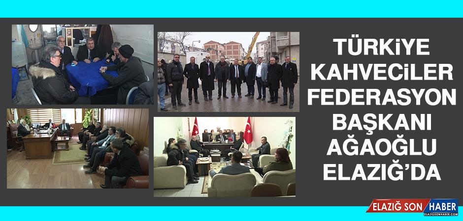 Türkiye Kahveciler Federasyon Başkanı Ağaoğlu, Elazığ'da