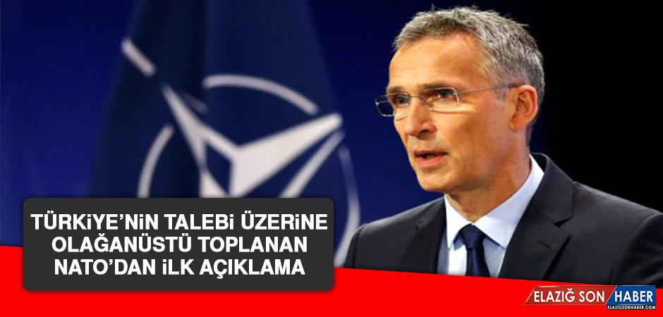 Türkiye'nin Talebi Üzerine Olağanüstü Toplanan NATO'dan İlk Açıklama