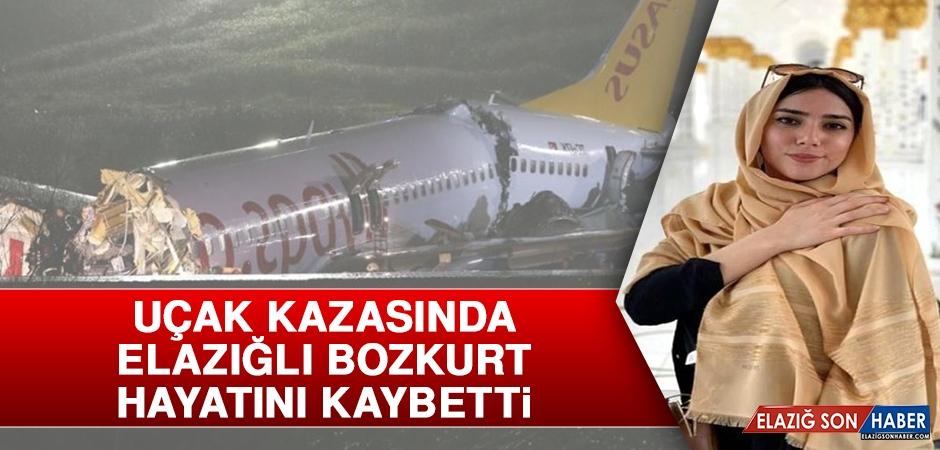Uçak Kazasında Elazığlı Bozkurt Hayatını Kaybetti