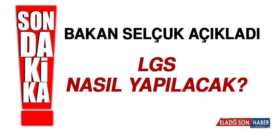 Bakan Selçuk'tan LGS Açıklaması