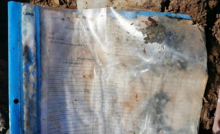 Bitlis'te PKK sığınağındaki seçimlere ilişkin belgelerle ilgili soruşturma başlatıldı