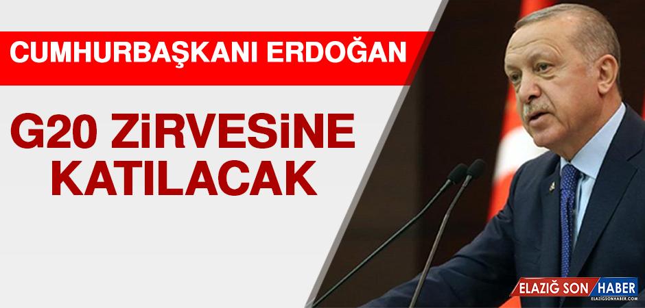 Cumhurbaşkanı Erdoğan G20 Zirvesine Katılacak