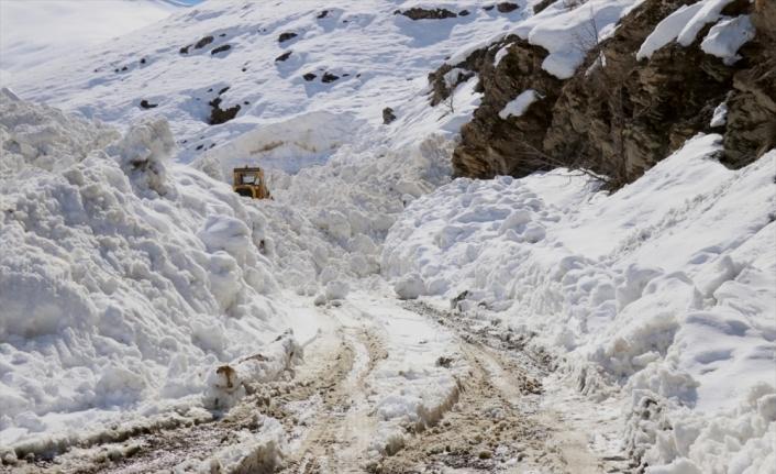 Doğu Anadolu'daki 4 ilde kar nedeniyle kapanan 72 yol açıldı