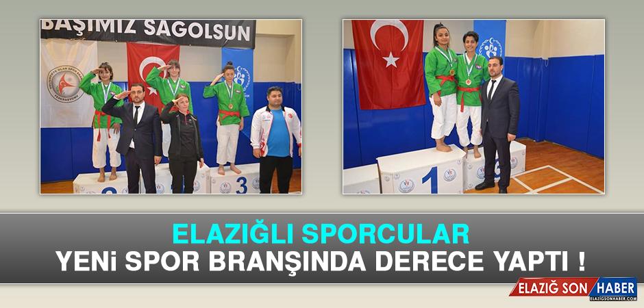 Elazığlı Sporcular Yeni Spor Branşında Derece Yaptı