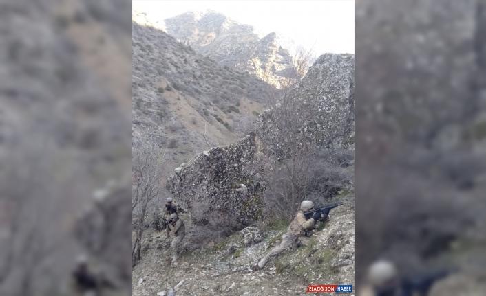 Hakkari'de terör örgütü PKK'ya yönelik