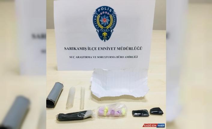 Kars'ta uyuşturucu ticareti yaptığı iddia edilen kişi tutuklandı