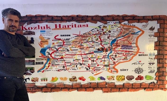 Kozluk'un kültür haritası oluşturuldu