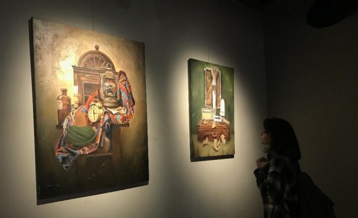 MEDAŞ Sanat Galerisinde öğrencilerden karma resim sergisi