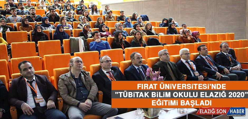 """""""TÜBİTAK Bilim Okulu Elazığ 2020"""" Eğitimi Başladı"""