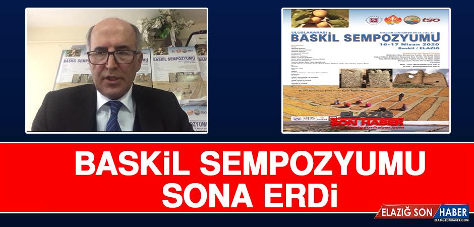 Baskil Sempozyumu Sona Erdi