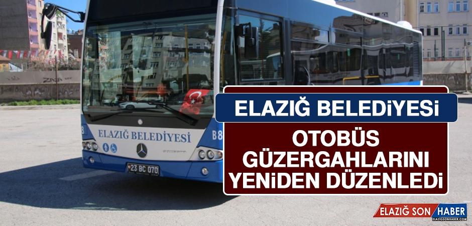Elazığ Belediyesi Otobüs Güzergahlarını Yeniden Düzenledi