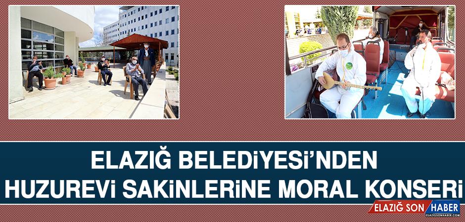 Elazığ Belediyesi'nden Huzurevi Sakinlerine Moral Konseri