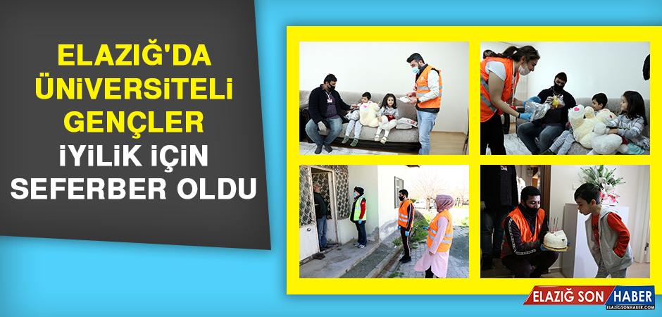 Elazığ'da Üniversiteli Gençler İyilik İçin Seferber Oldu