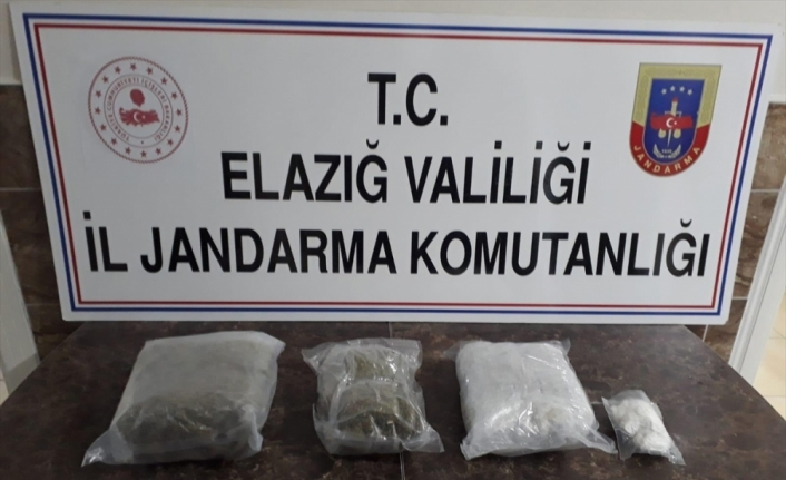 Elazığ'da uyuşturucu operasyonunda iki kişi gözaltına alındı
