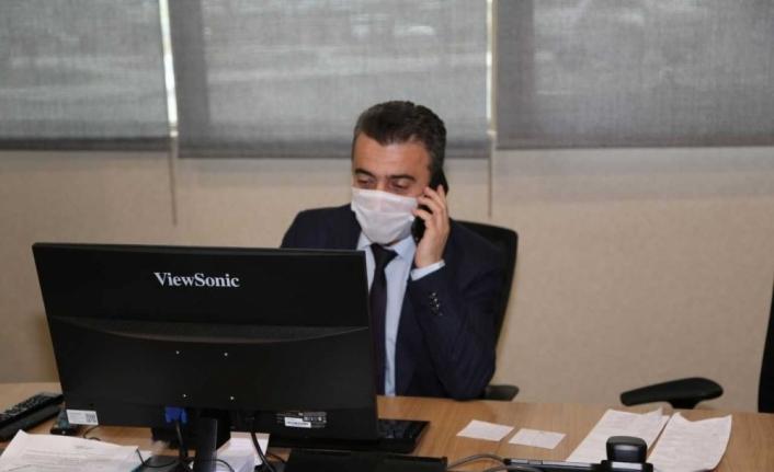 Erzurum'da Kovid-19 temaslı kişilerin izolasyonunda yüzde 100'lük başarı
