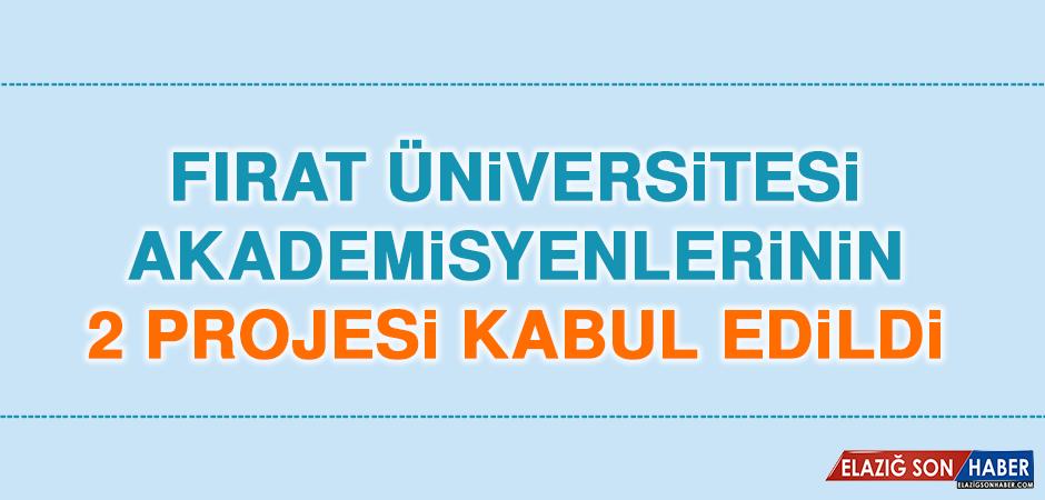 Fırat Üniversitesi'nde Akademisyenlerin 2 Projesi Kabul Edildi