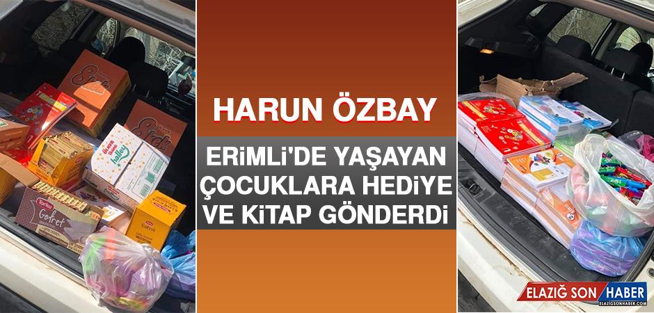 Harun Özbay, Erimli'de Yaşayan Çocukları Unutmadı