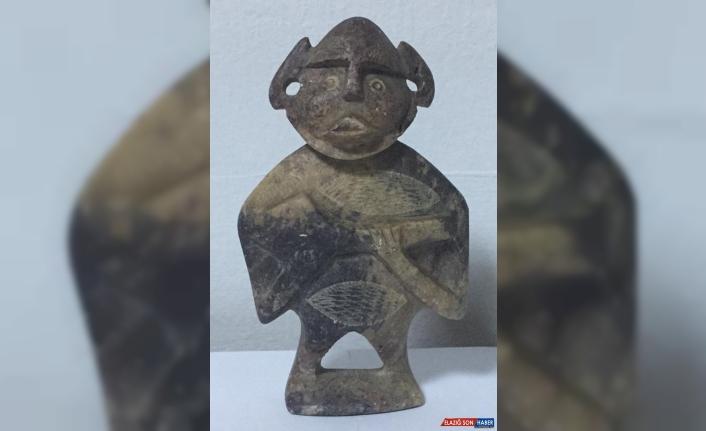 Hitit dönemine ait heykeli satmaya çalışan 2 kişi yakalandı