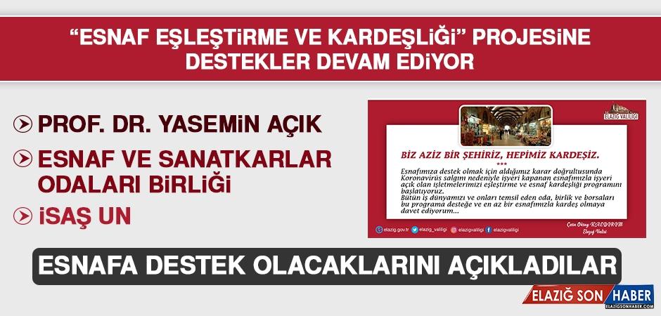 Vali Kaldırım'ın Esnaf Kampanyasına Destekler Devam Ediyor