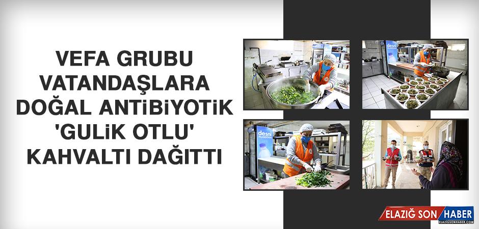 Vefa Grubu Vatandaşlara Doğal Antibiyotik 'Gulik Otlu' Kahvaltı Dağıttı