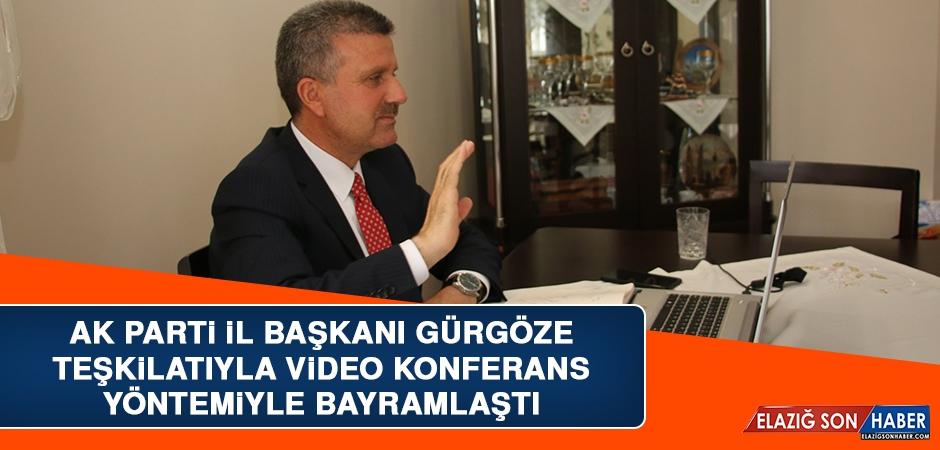 AK Parti İl Başkanı Gürgöze, Teşkilatıyla Video Konferans Yöntemiyle Bayramlaştı